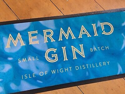 1 X Large Stunning Official Mermaid Gin Bar Runner Pub Glass Available Home Bar • 16£