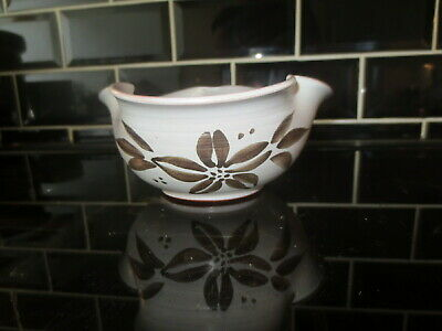 Holkham Pottery Bowl By Cyril Ruffles Studio Mid Century 1951 - 1961 Clover Leaf • 9.99£