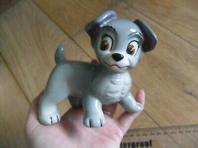 Unmarked Wade Pottery Blow Up Scamp Disney • 9.99£