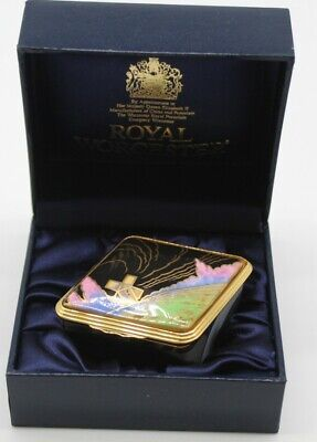 Royal Worcester Rhombus 250th Anniversary Commemorative Box ##ALSB165 • 9.99£