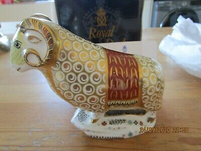 Royal Crown Derby The Ram Of Colchis Limited Edition First Quality • 53£