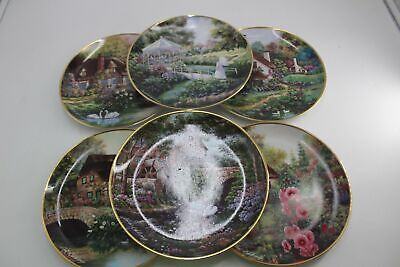 Franklin Mint Heirloom Collection X6 Limited Edition Plates ##Oaf B141 • 24.99£