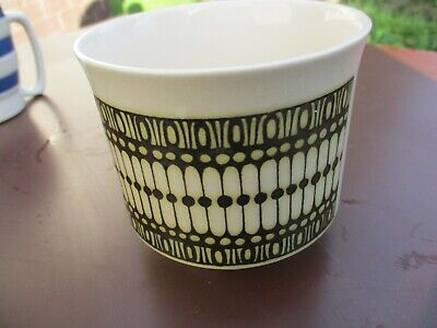 Small Hornsea Pottery Beaded Plant Pot 3 1/2  Tall By Jack Dadd • 9.99£