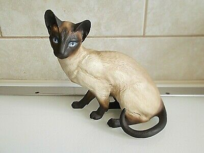 Franklin Mint Limited Edition Cat   ANTICIPATION  • 16£