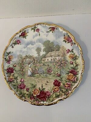 Royal Albert - A Celebration Of The Old Country Roses Garden Plate • 6£