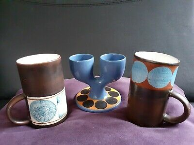 Troika 2 X Coffee Mugs & Troika Double Egg Cup • 165£