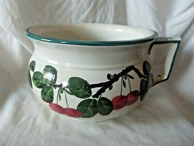 Antique Original Robert Heron & Sons Wemyss Potty / Bowl With The Cherry Design • 290£