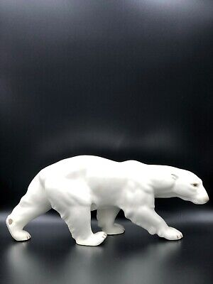 Large Copenhagen Bing & Grondahl B&G Porcelain Figurine Walking Polar Bear  • 191.67£