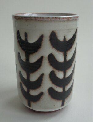 Tenby Pottery Small Cylinder Vase • 6£
