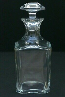 Vintage Baccarat Crystal Perfection Whiskey Scotch Decanter W/ Stopper EXC Cond • 192.32£