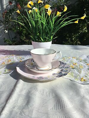 Royal Albert Alpha Foodie Pink Trio, Teacup, Saucer And Tea Plate Brand New  • 35£
