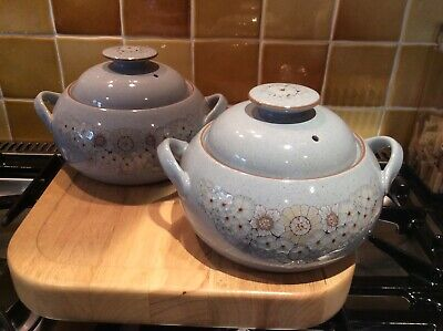 Denby Reflections Vegetable/Soup Tureens With Lids (Pair) • 10£
