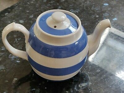 T.G. Green Cornishware Tea Pot (rare) • 85£