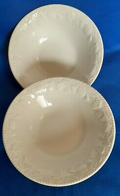 Bhs Pottery Lincoln 2x Cereal Or Soup Bowls  • 6£
