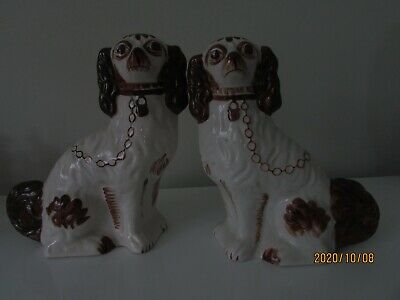 Wally Dogs, Hand Painted In Staffordshire. • 5.90£