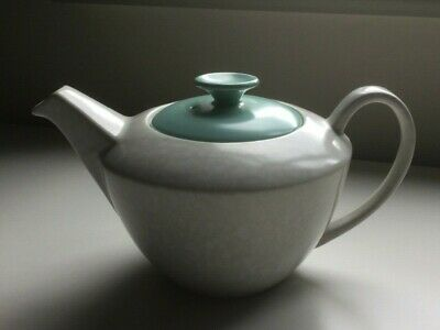 Poole Pottery Twintone Large Teapot Seagull And Ice Green • 4.30£