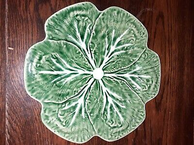 Green Cabbage Plate • 4.25£