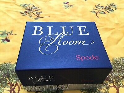 New Boxed Spode Blue Room Blue Rose Floral Display Mug Tea Coffee Hot Chocolate • 5£