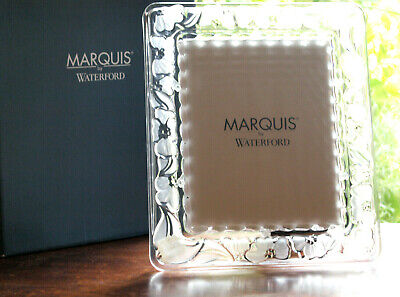 Waterford Crystal Floral Large Photo Frame 8x10  New In Box • 60£