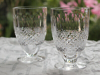 Waterford Crystal Colleen Juice Glass Set Of 2 Mint Made In Ireland • 75£