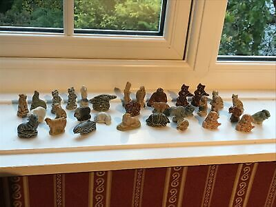 Wade Whimsies - 33 Vintage Porcelain Collectibles 1970s Or Early 1980s • 5£