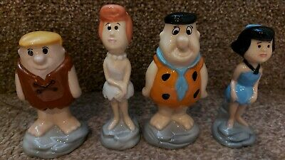 Wade Ceramics THE FLINSTONES RARE Full Set Limited Editions BNWB & Certificate • 109£