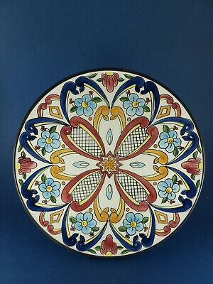 Large Spanish Ceraplat Hand Made Wall Plate/Charger • 12£