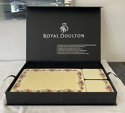 Royal Doulton – Old Country Rose – Set Of 18 Place Mats, Coasters & Serving Mats • 19.50£