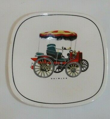 Vintage Gray's Pottery Small Shallow Dish With Daimler Car Image • 4.99£