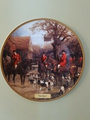 Royal Doulton  'The Meet' In The Huntsman's Call Ltd Edition Decorative Plate • 10£