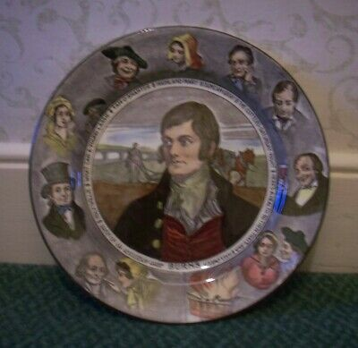 Royal Doulton Burns 10.5  Plate D3397 • 15£