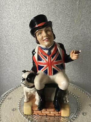 Kevin Francis The John Bull Limited Edition Toby Jug Ltd Ed Of 350  • 30£