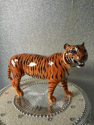 Beautiful Large Beswick England Standing Prowling Tiger Figure Model Number 2096 • 40£