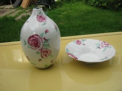 Royal Doulton Vase And Bowl Please Read Details Collection Only • 20£