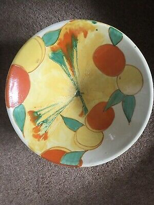 Clarice Cliff Footed Bowl Shape No 383 • 108£