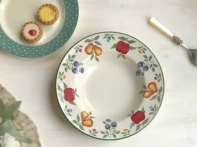 Large Soup / Pasta Bowl 'Toscana' By Royal Stafford Fruit And Berries Plate 25cm • 10£
