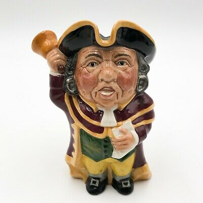 T159: STAFFORDSHIRE CHARACTER JUGS By MANOR TOWN CRIER • 8.99£