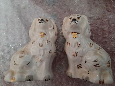 Pair Beswick Mantle Dogs Approx 3.5in • 10£