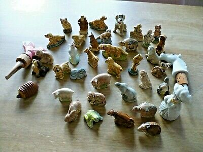 A Job Lot Of Wade Whimsies.39 Pieces In Total • 12£