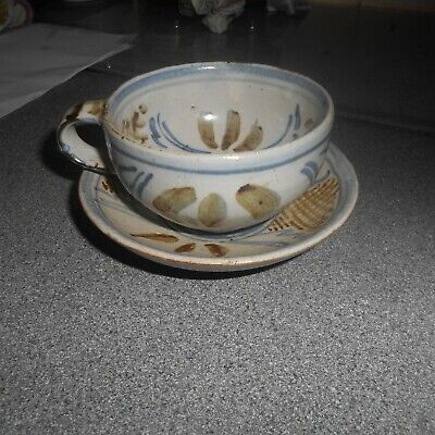 Wenford Bridge, Seth Cardew, Cup And Saucer, Saucer, 4 5/8ths In Diameter • 15£