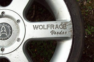 Wolfrace Alloy Wheel. • 25£