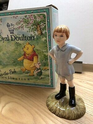 Royal Doulton Winnie The Pooh Christopher Robin WP9 1996 Only.New In Box • 7.50£