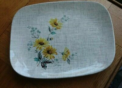 Vintage J And G Meakin Sol Serving Plate • 9£