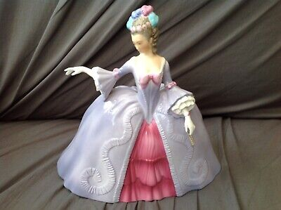Vintage 1980 Franklin Mint Figurine (marianne  The Minuet ) No Reserve!! • 8£
