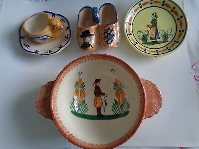 Quimper Faience Pottery • 5£