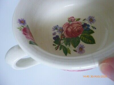 Vintage Arthur Wood Potty Gazunder Small Floral Design 5724 • 6£