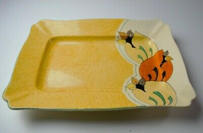 Early Large Bizarre Clarice Cliff Rectangular Platter.  • 390£
