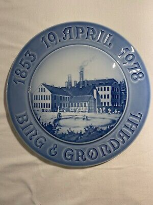 Vintage Royal Copenhagen Bing And Grondall 1978 Plate • 10£