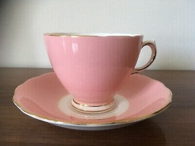 Colclough Harlequin Cup And Saucer • 2£