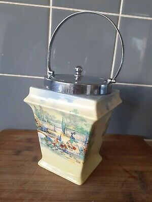 Old World Biscuit Barrel • 7£